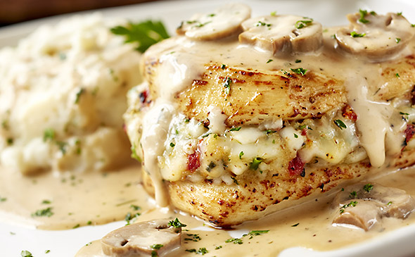 Crab Topped Chicken Olive Garden Recipe
