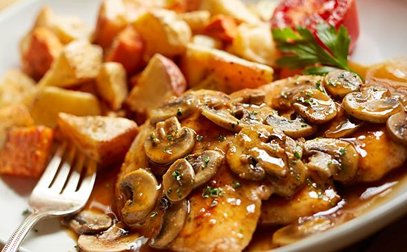 Chicken Marsala, $20.79