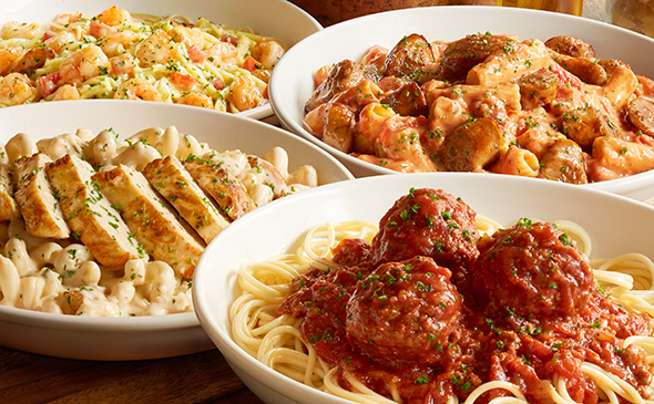 create your own pasta - Olive Garden Bellingham